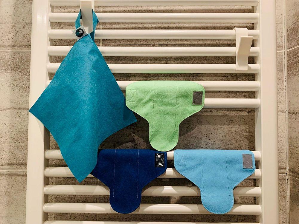 Jak dbać o wielorazowe podpaski oraz wkładki higieniczne Loffme?