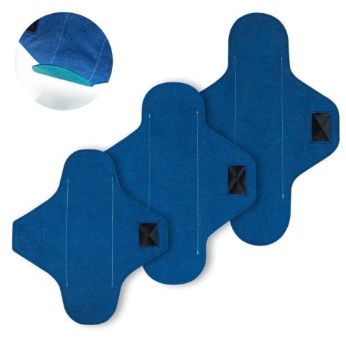 Zestaw na próbę: wielorazowa podpaska normal, wielorazowa podpaska long, wielorazowa wkładka higieniczna normal | Loffme.com